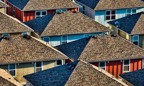 вид с крыши ночью