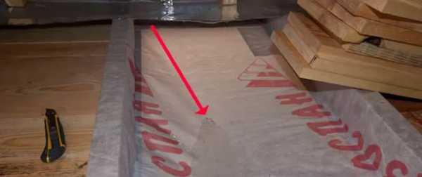 Как класть изоспан на крышу, инструкция по применению