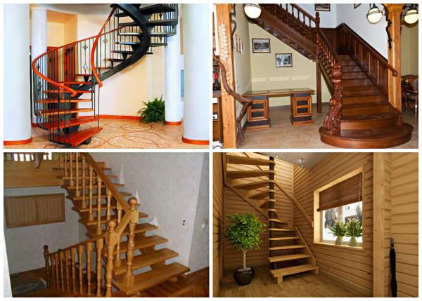 высота ступенек на лестнице