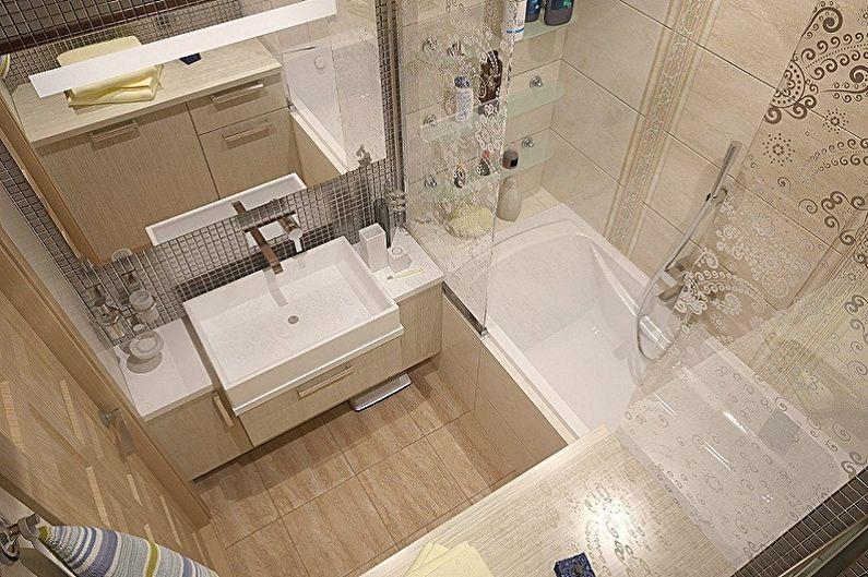 ванная 2 кв м