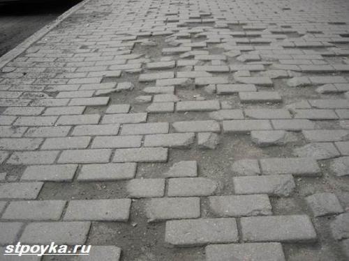 бетонирование дорожек
