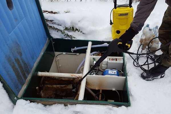 консервация септика на зиму своими руками