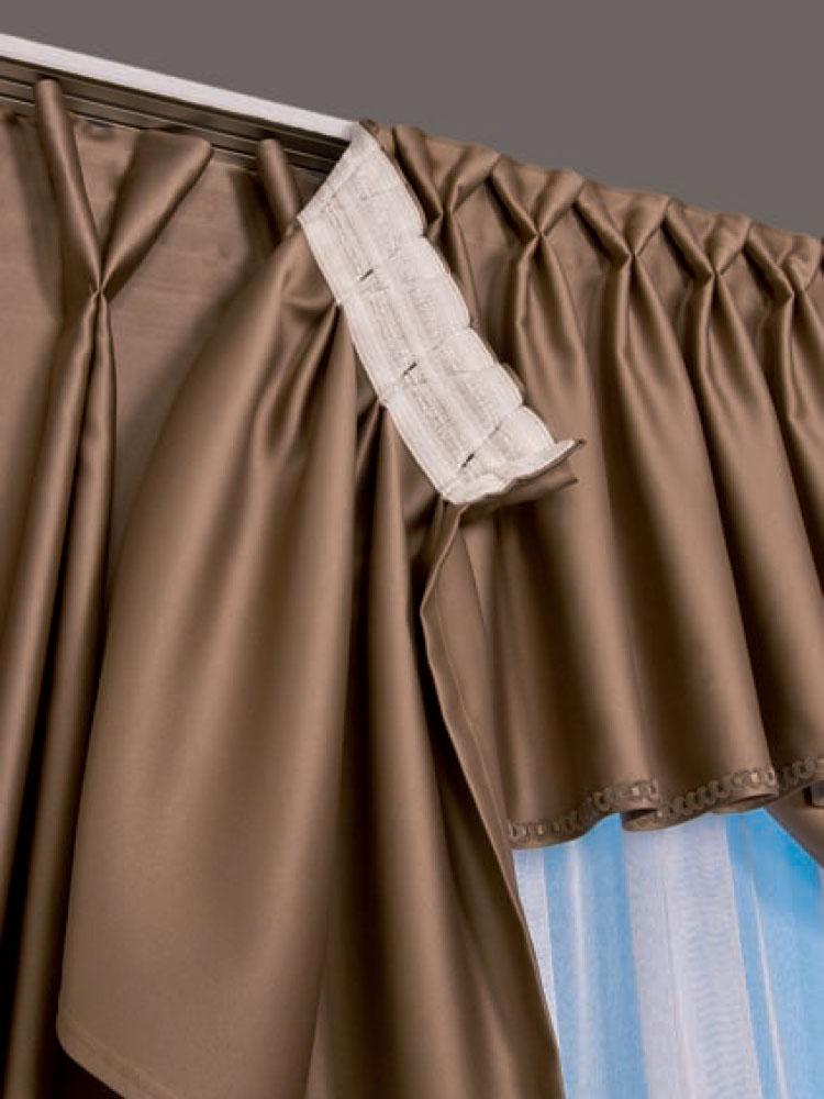 Научим как правильно нужно вешать шторы на шторную ленту