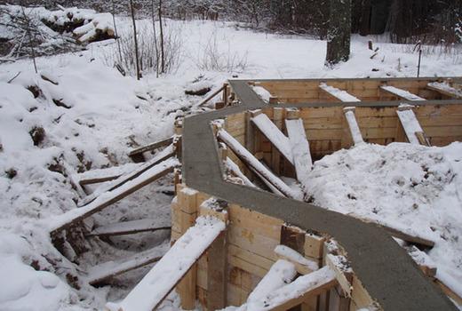 Консервация фундамента на зиму: теплоизоляция и гидроизоляция