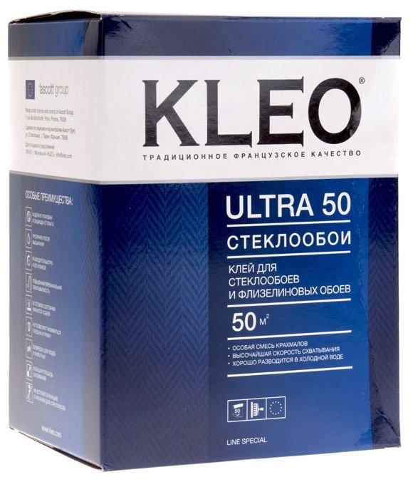 Клей бренда kleo для обоев