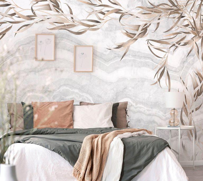 Дизайн обоев (159 фото): варианты ремонта квартиры и поклейки, идеи декора спален 2020, комнаты с разной расцветкой стен