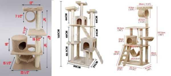 как сделать кошачий дом