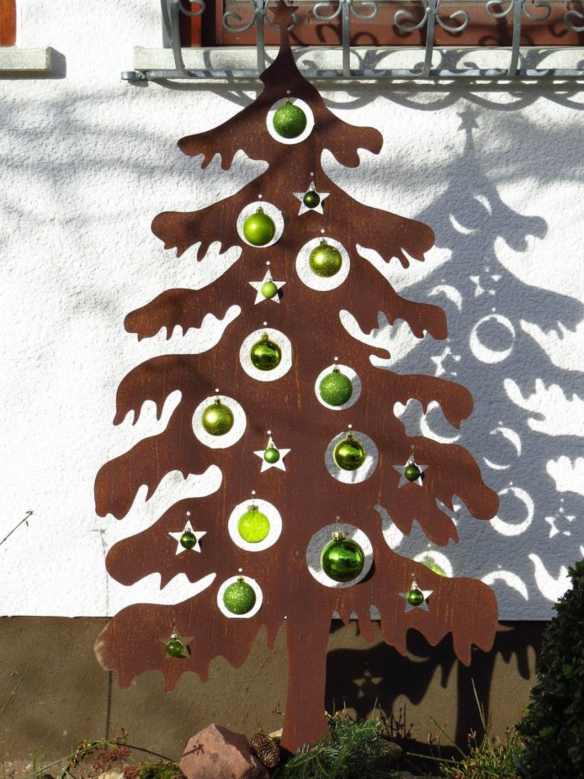 Как сделать новогоднюю елку своими руками: мастер-классы для школы и детского сада