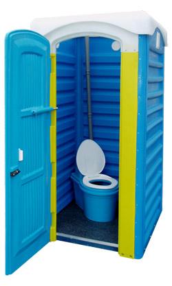 пластиковый туалет для дачи