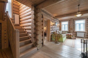 Обшивка стен в деревянном доме - фото примеров