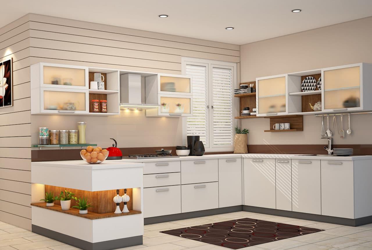 кухня на две стороны