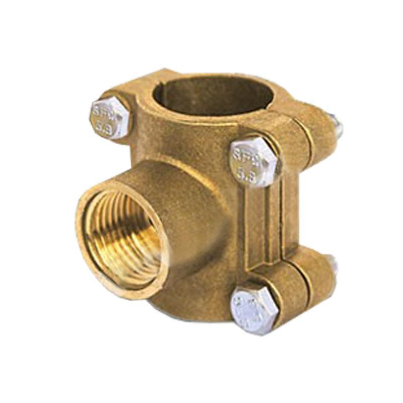 Вентиль для врезки под давлением — использование сиделки и хомута при подключении в разные виды труб