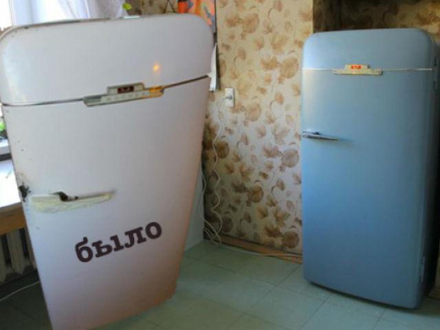 покрасить холодильник в домашних условиях