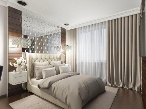 Бра над кроватью в спальне: виды, фото, организация освещения