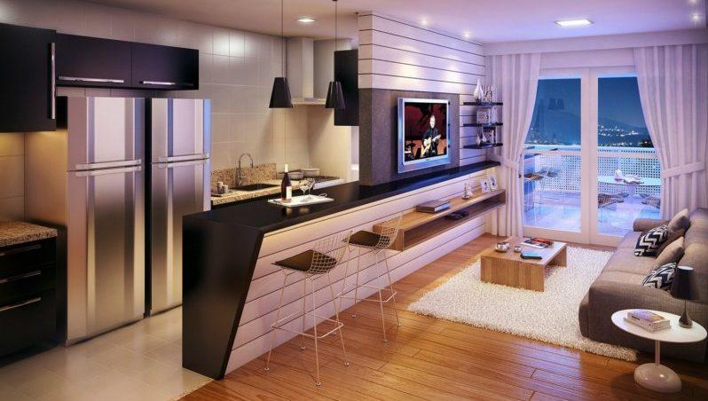 как обустроить 1 комнатную квартиру