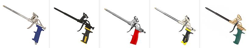 Как пользоваться пистолетом для пены: инструкция и рекомендации