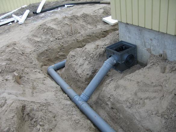 Какую трубу для ливневой канализации лучше выбрать