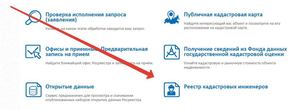 Реестр кадастровых инженеров в интернет в москве в 2020 году