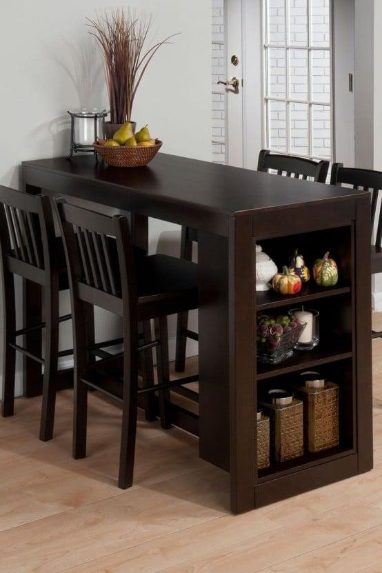 Cтол и стулья для маленькой кухни (70+ фото) ✅️ стильно и недорого!