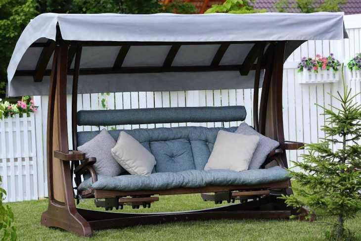 Дачные и садовые качели: 100+ идей и вариантов на фото