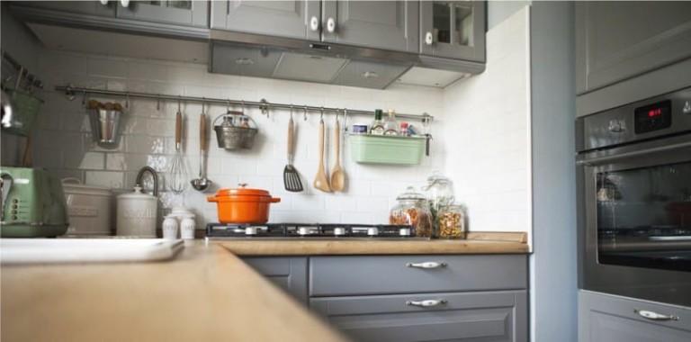 Фартук для кухни под кирпич: делаем своими руками