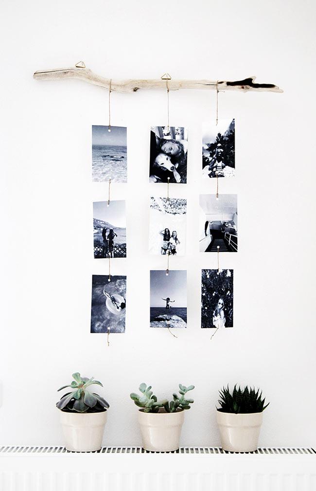 Коллаж из картин или фотографий на стену: как сделать своими руками, идеи, фото в интерьере