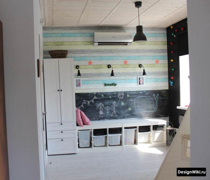 Дизайн детской: фото детской комнаты для детей разного возраста