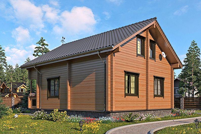 маленькие двухэтажные дома