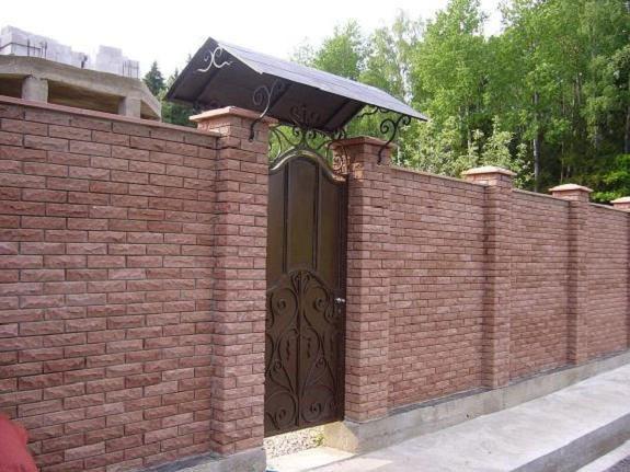 козырек над воротами гаража