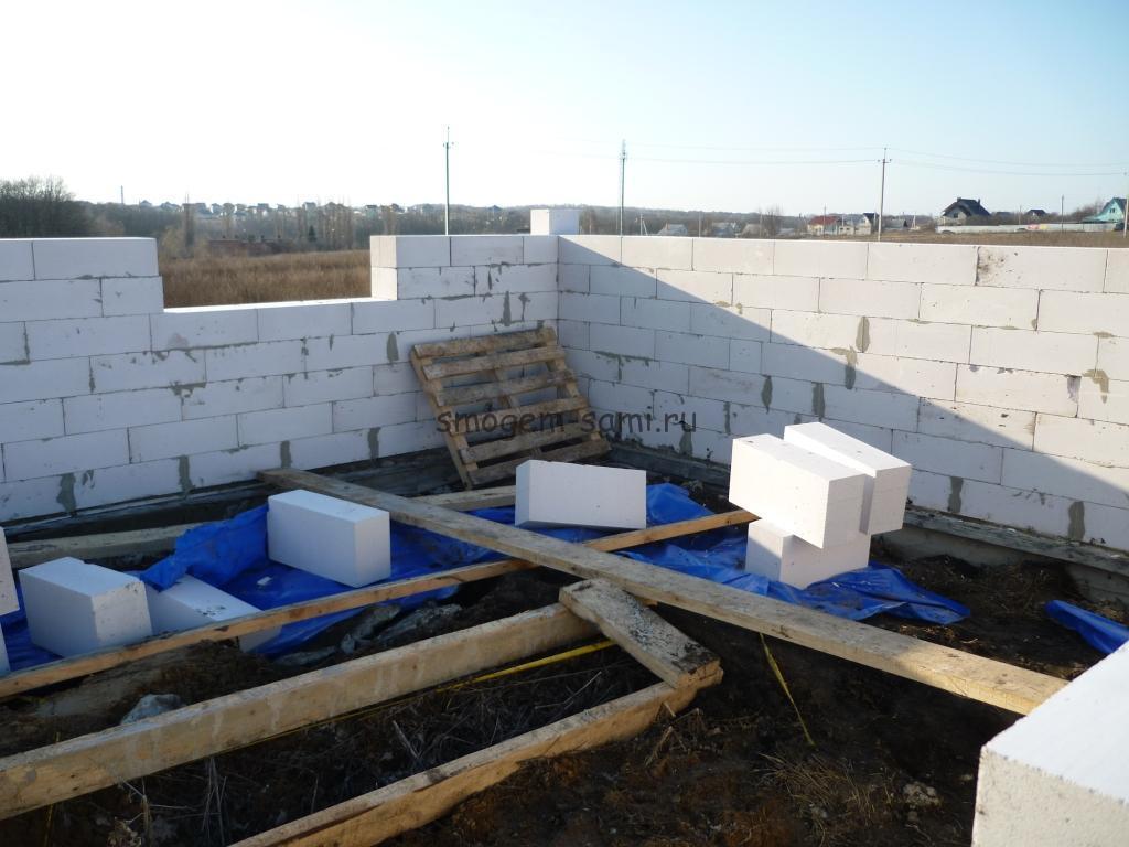 Дом из газобетона: технология строительства, фото, видео
