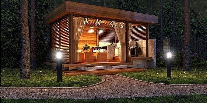Беседки для дачи: оригинальные постройки, стиль и дизайн