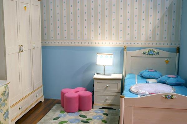 Обои для детской комнаты девочки: 44 лучших интерьерных решения