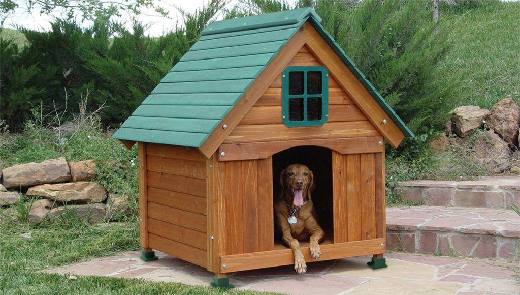размеры будки для собаки среднего размера