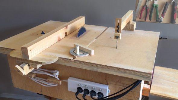 распиловочный стол для циркулярной пилы своими руками