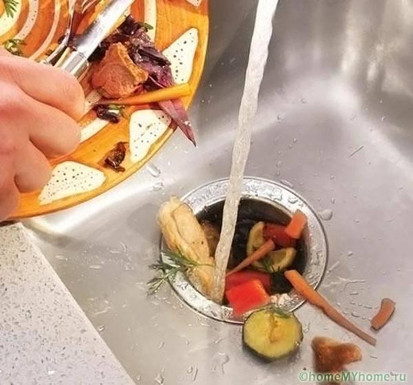 Измельчитель для кухни в раковину