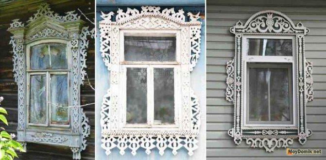 Наличники на окна в деревянном доме: виды, изготовление резных обналичников из дерева, установка, фото