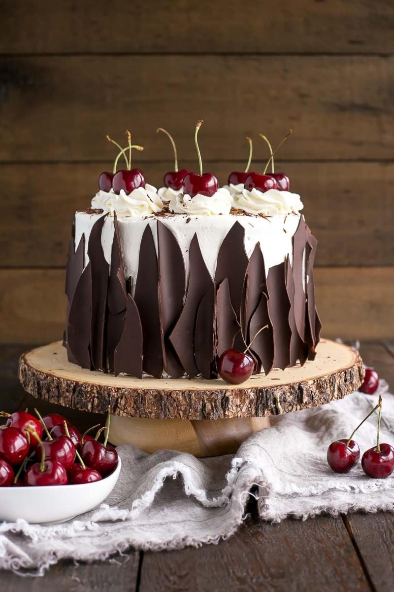 украшение торта фото
