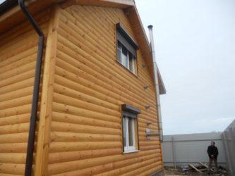 Блок-хаус для наружной отделки дома: тонкости облицовки фасада