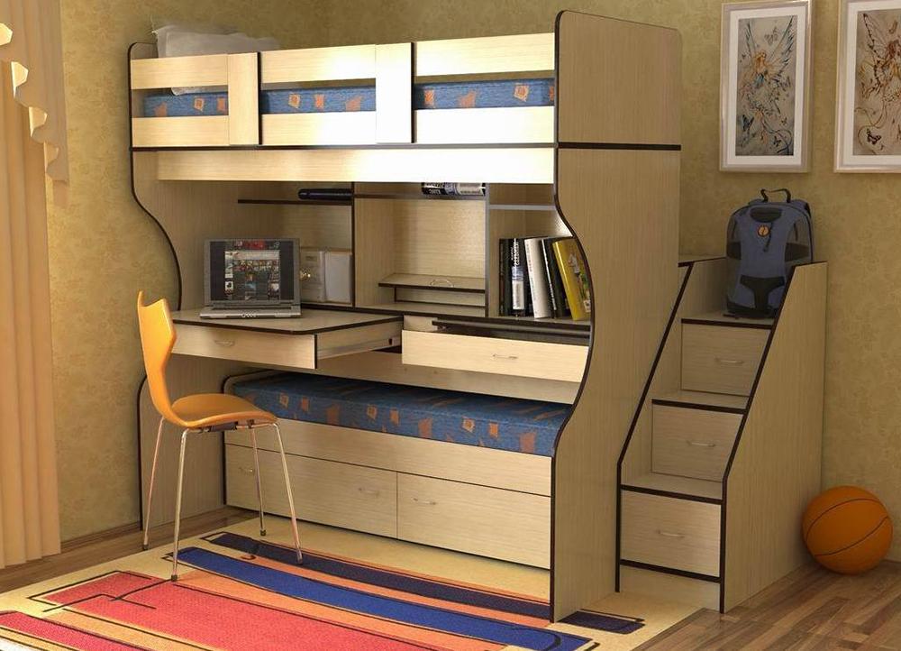 Мебель для маленькой комнаты, какую выбрать и как размещать в интерьере