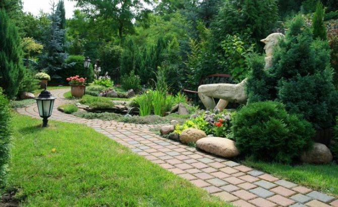 Декор для сада +75 фото идей сделанных своими руками