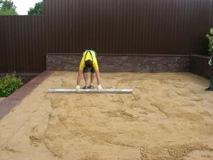 бетонирование двора частного дома своими руками