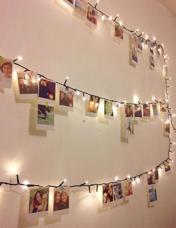 Елка из гирлянды своими руками: на стене, окне, в углу комнаты, на улице, пошаговые инструкции, фото и видео | праздник для всех