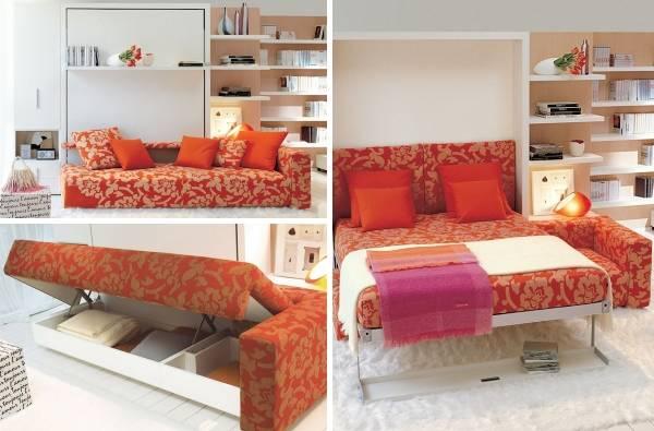 Многофункциональная мебель — спасение для маленькой квартиры