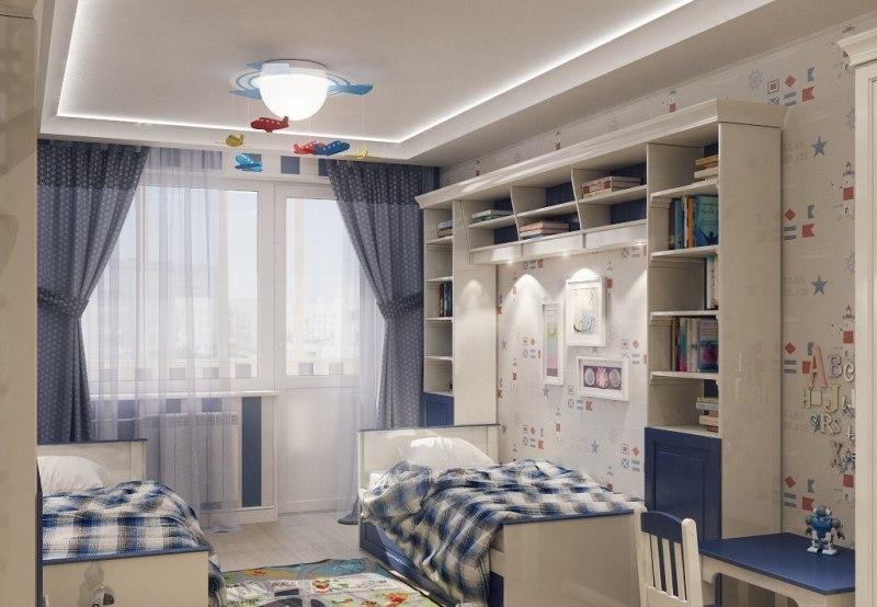 Как выбрать кровать для троих разнополых детей