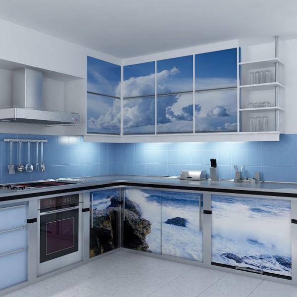 Замена кухонных фасадов: как поменять фасады на кухне?