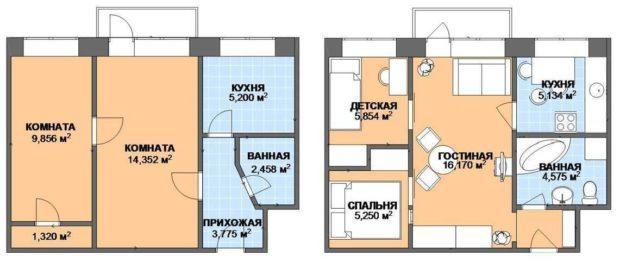 хрущевские дома