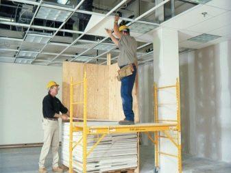Плитка потолочная армстронг – подвесные потолочные покрытия из минеральной плитки