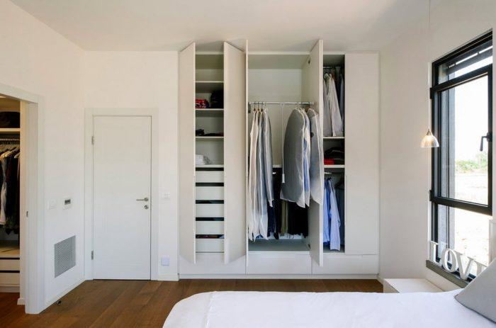 шкаф купе в спальню современный дизайн