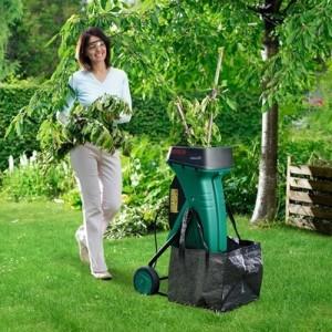 Садовые электрические измельчители веток: обзор моделей и цены
