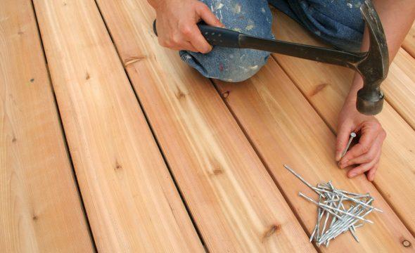 как убрать скрип деревянного пола в квартире